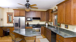 Image of kitchen counters and remodel